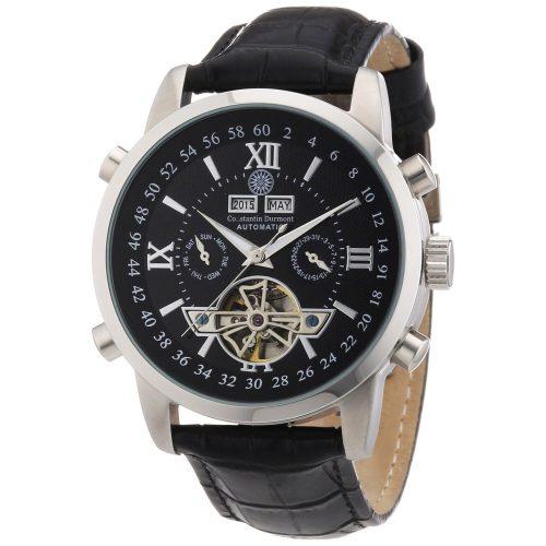Constantin-Durmont-Herren-Armbanduhr-Automatik-Analoguhr-Chronograph-1