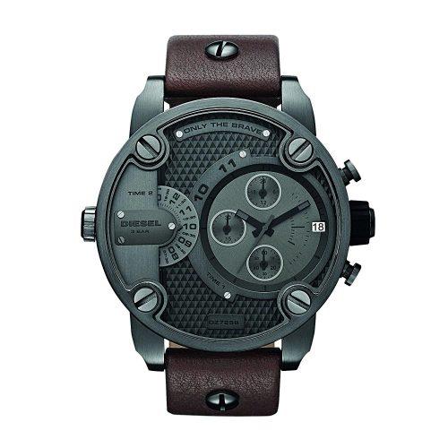 Diesel-DZ7258-Chronograph-fuer-Maenner-mit-Mineralglas-im-Industrial-Design