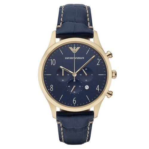 Emporio-Armani-AR1862-Chronograph-in-Gold-Blau-mit-echem-Saphirglas