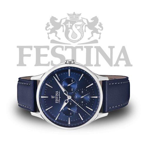 Festina-Daydate-F16991-3-blaue-Herrenuhr