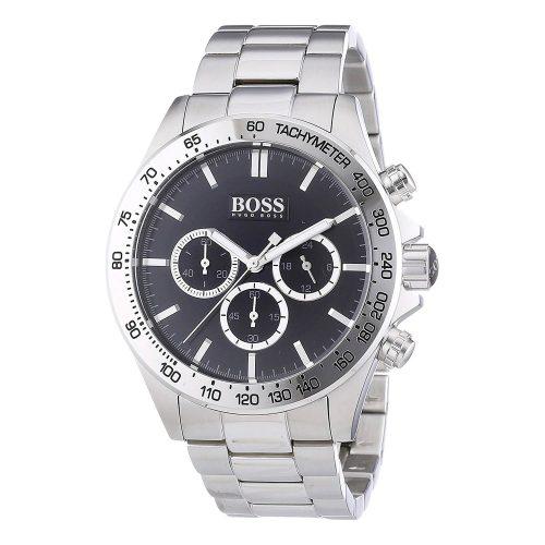 Hugo-Boss-1512965-Herrenuhr-sportlicher-Chronograph-aus-Edelstahl