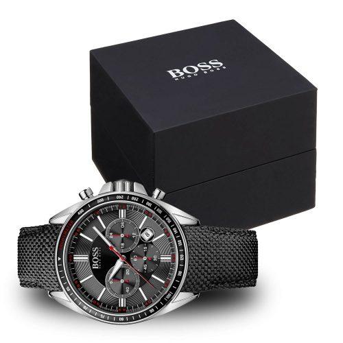Hugo-Boss-1513087-Sport-Driver-Chronograph-mit-schwarzer-Geschenkbox