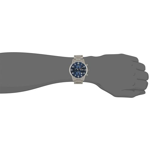 Hugo-Boss-1513183-Herrenuhr-Chronograph-blau-silber