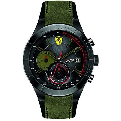 Scuderia-Ferrari-Orologi-red-rev-evo-armbanduhr