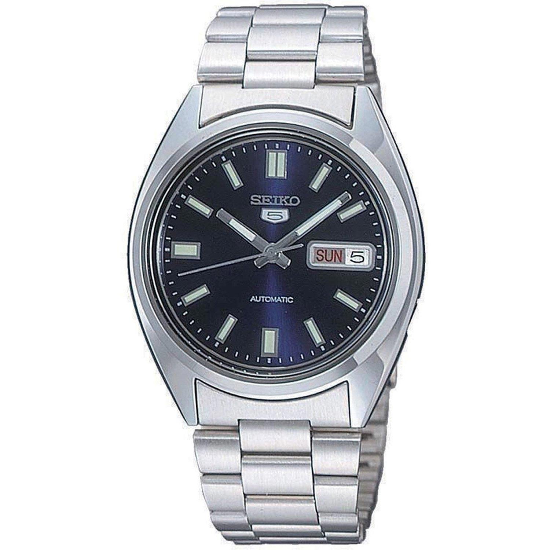 Seiko-5-Herrenuhr-SNXS77-Analoguhr-Edelstahl-Gliederarmband-Automatik-Uhrwerk