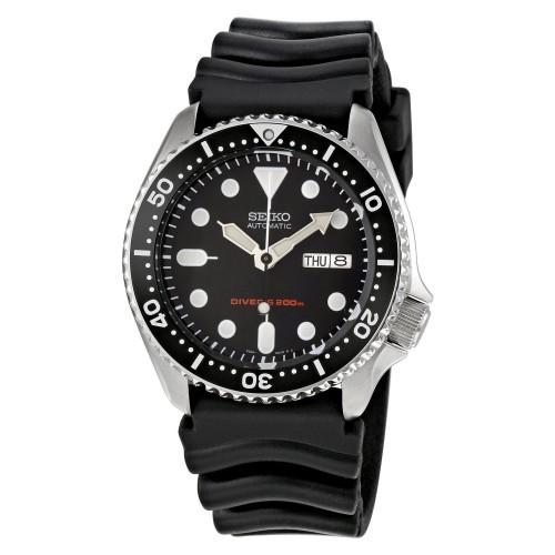 Seiko-Automatik-Taucheruhr-SKX007K1-Scuba-Divers-Herrenuhr-mit-Kautschuk-Armband