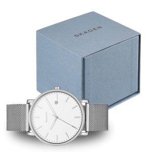 Stilvolle-Skagen-Armbanduhr-Geschenkidee-fuer-Maenner