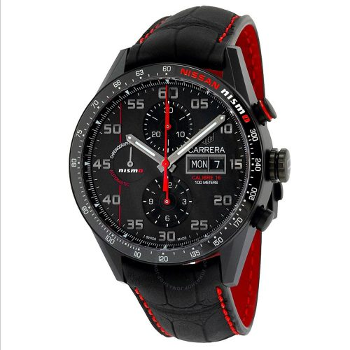 TAG-Heuer-Day-Date-Automatik-Nissan-NISMO-CV2A82.FC6237-Sport-Chronograph-mit-Titan
