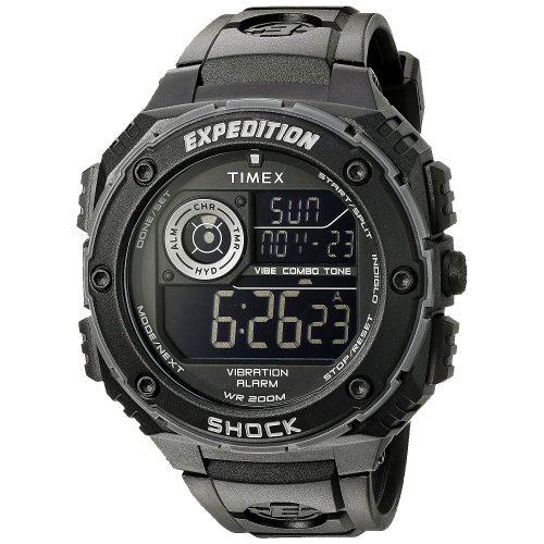 Timex-Expedition-Shock-T49983-Digitaluhr-Outdoor-Sport-Schwarz