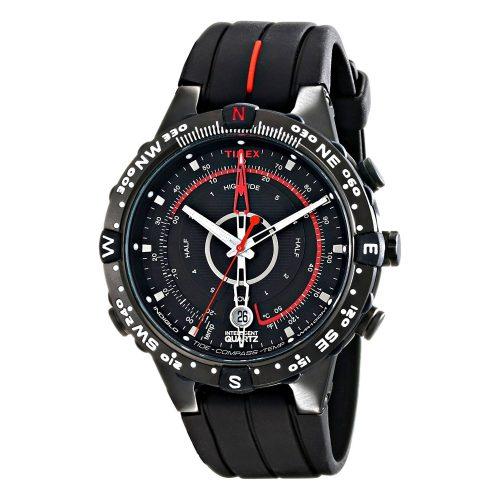 Timex-Expedition-T2N720-E-Tide-Compass-schwarze-Armbanduhr-mit-Silikonarmband-und-Quarzuhrwerk