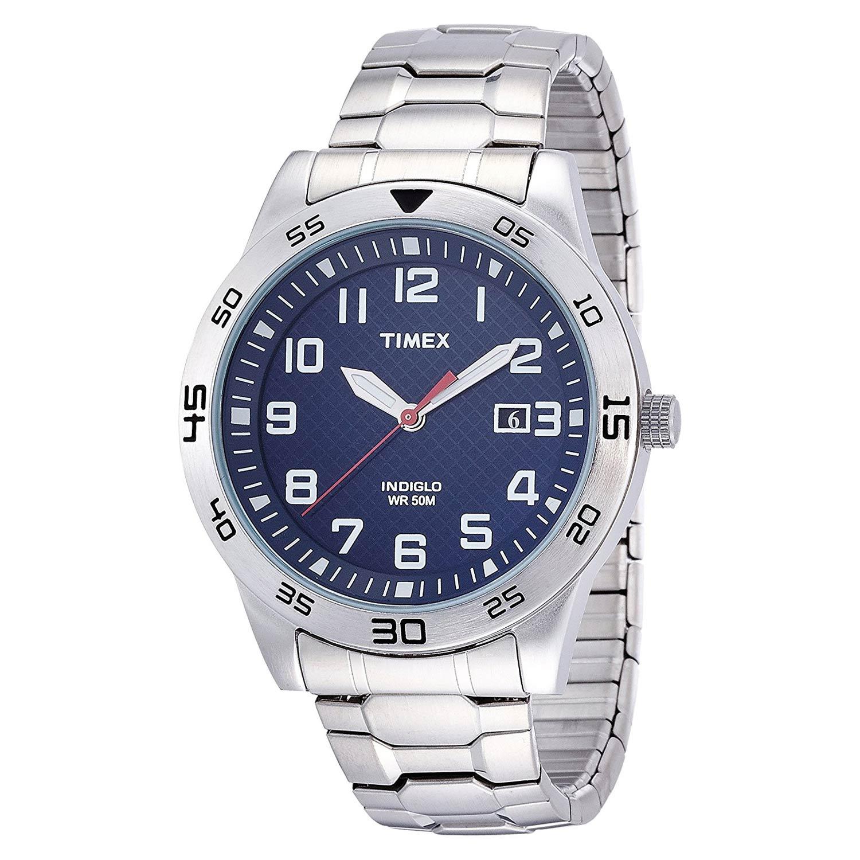 Timex-Fieldstone-TW2P61500-Herren-Armbanduhr-aus-Edelstahl-in-Silber