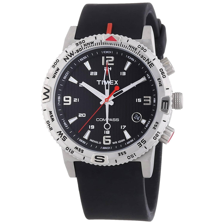 Timex-Intelligent-Quartz-T2P285-Outdoor-Uhr-mit-Kompass-Funktion-und-schwarzem-Silikonarmband